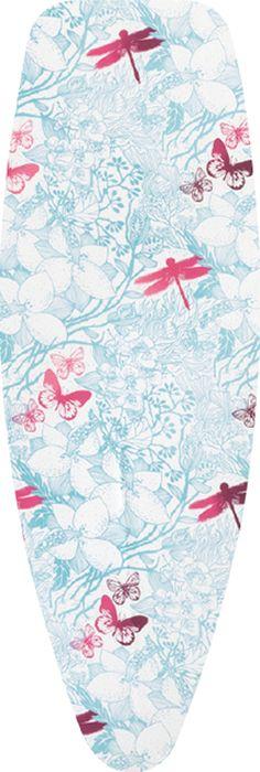 Фото - Чехол для гладильной доски Brabantia Perfect Fit, 2 мм, цвет: ботанический сад, 135 х 45 см. 111662 чехол для гладильной доски brabantia perfect fit 2 мм цвет зерно 135 х 45 см 111648