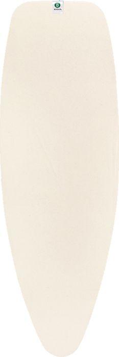 Фото - Чехол для гладильной доски Brabantia Perfect Fit, 2 мм, цвет: экрю, 135 х 45 см. 124662 чехол для гладильной доски brabantia perfect fit 2 мм цвет зерно 135 х 45 см 111648