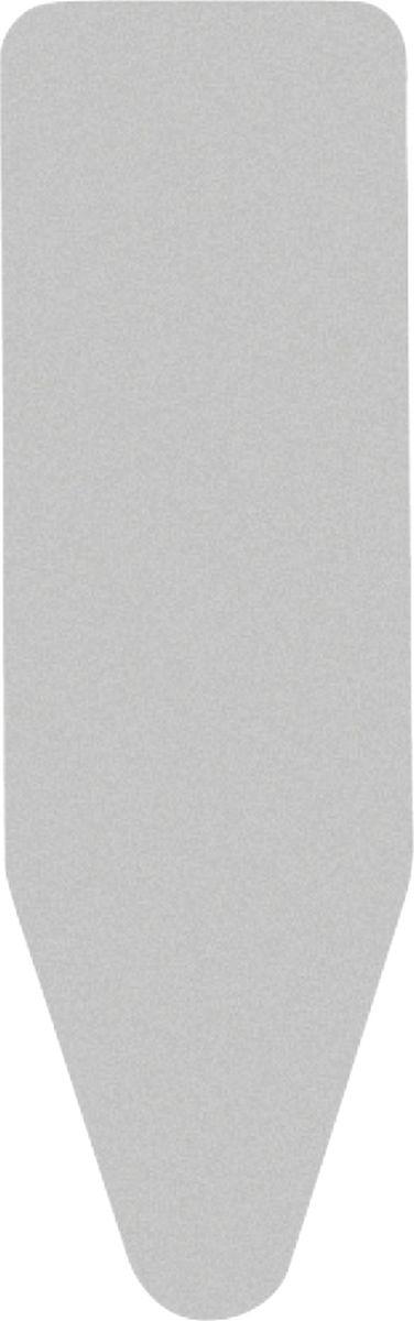 Фото - Чехол для гладильной доски Brabantia Perfect Fit, 2 мм, цвет: металлизированный, 135 х 45 см. 264528 чехол для гладильной доски brabantia perfect fit 2 мм цвет зерно 135 х 45 см 111648