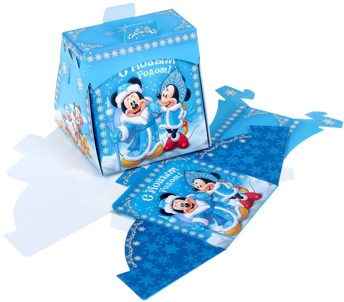 Коробка складная Disney Радости! Микки Маус и друзья, 11,5 х 11,5 х 11,5 см корзина для игрушек disney микки маус и его друзья 2732136