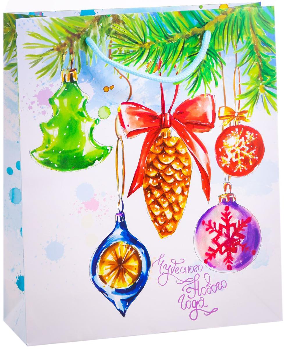 Пакет подарочный Дарите Счастье Любимые игрушки, вертикальный, 23 х 27 х 8 см пакет подарочный дарите счастье восторженный друг 18 х 8 х 23 см 1717586