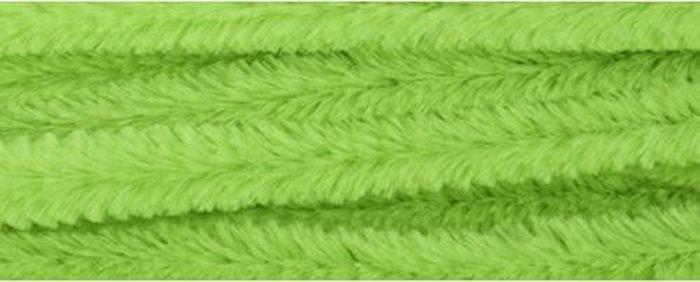 """Синель-проволока """"Астра"""", цвет: светло-зеленый, 1,2 х 30 см, 15 шт"""