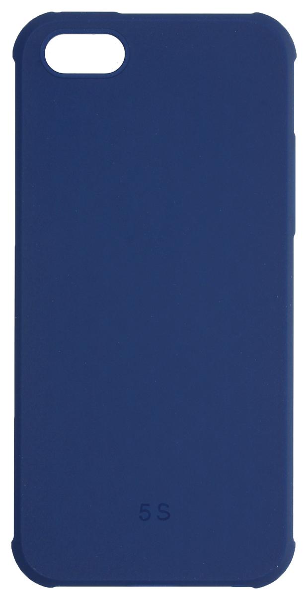 Red Line Extreme чехол для iPhone 5/5s/SE, Blue красочные цветы шаблон мягкий тонкий тпу резиновая крышка силиконовый гель чехол для iphone 5 5s 5se