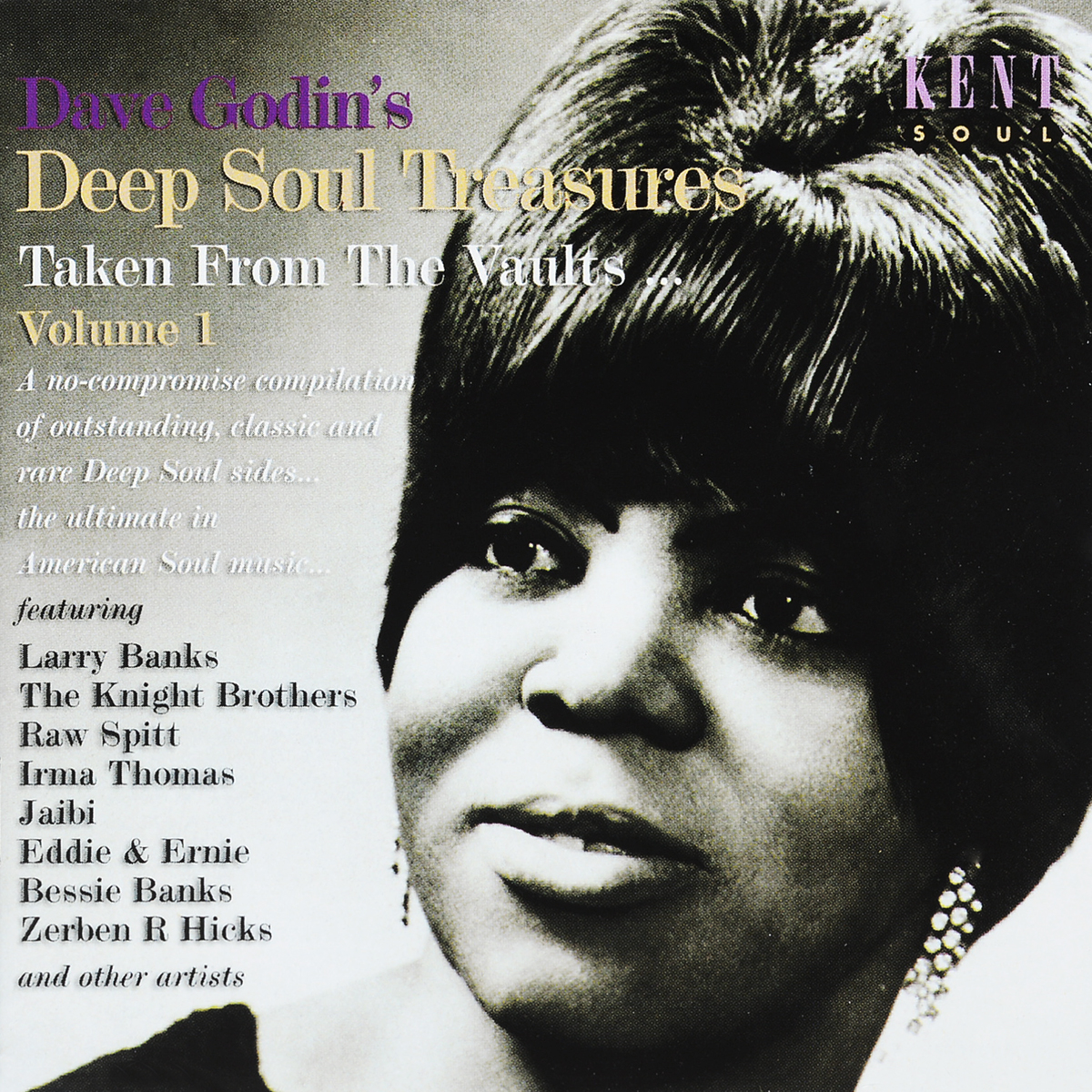 Dave Godin's Deep Soul Treasures (Taken From The Vaults...) Volume 1 dave godin s deep soul treasures taken from the vaults volume 1