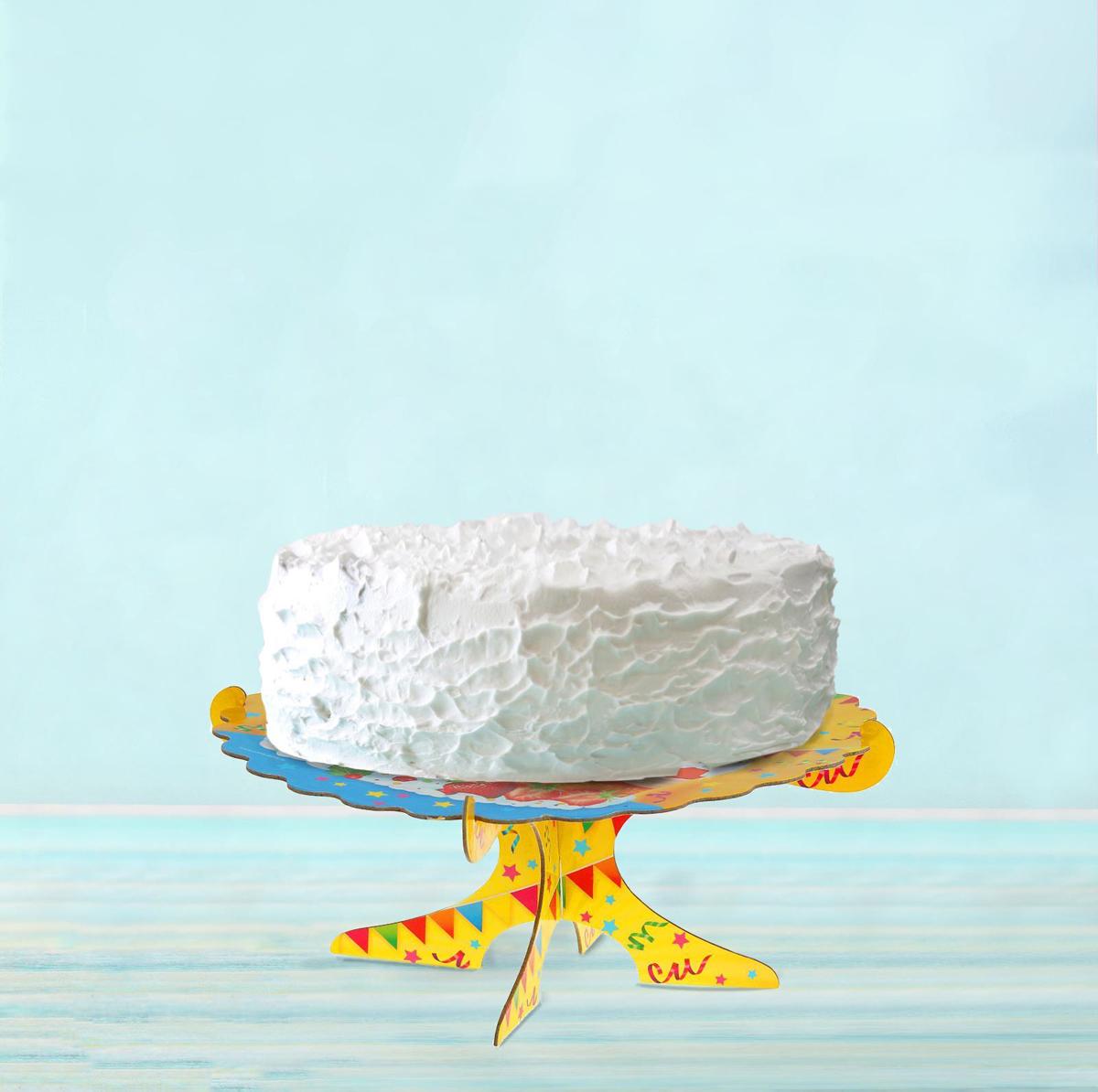Страна Карнавалия Подставка для тортов С днем рождения 1070529
