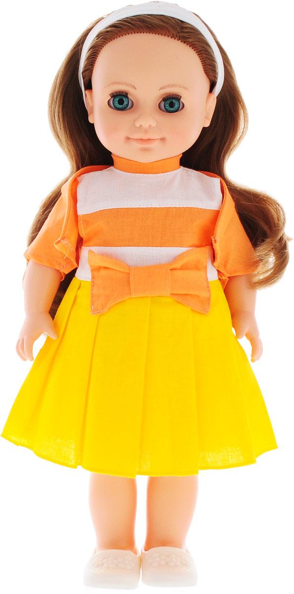 Весна Кукла озвученная Анна цвет наряда желтый оранжевый
