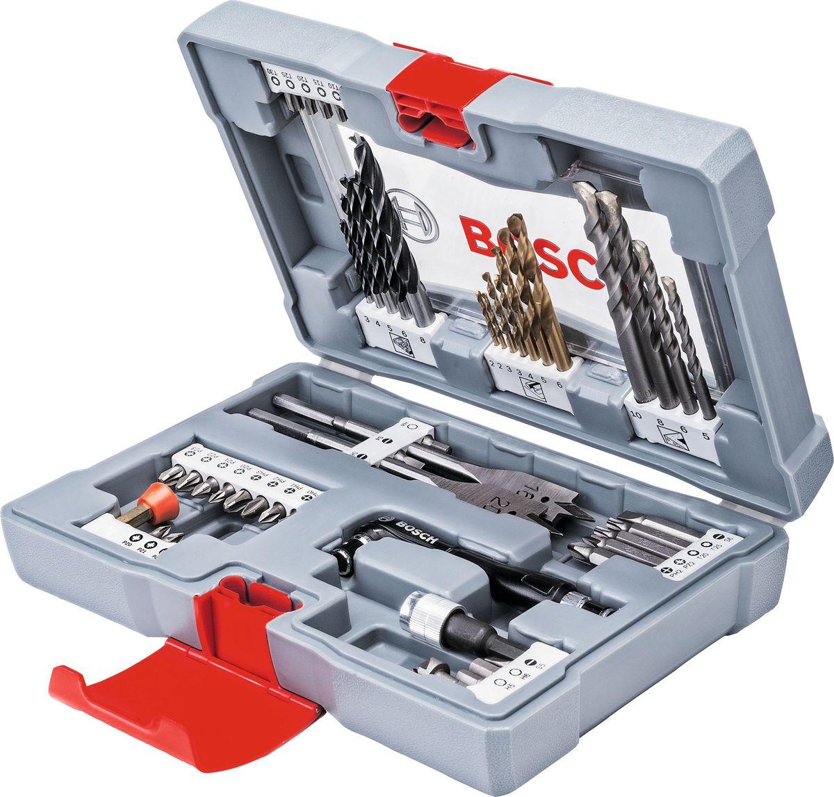 Набор оснастки Bosch Premium Set, 49 шт. 2608P00233 набор оснастки по дереву bosch для pmf 4 шт