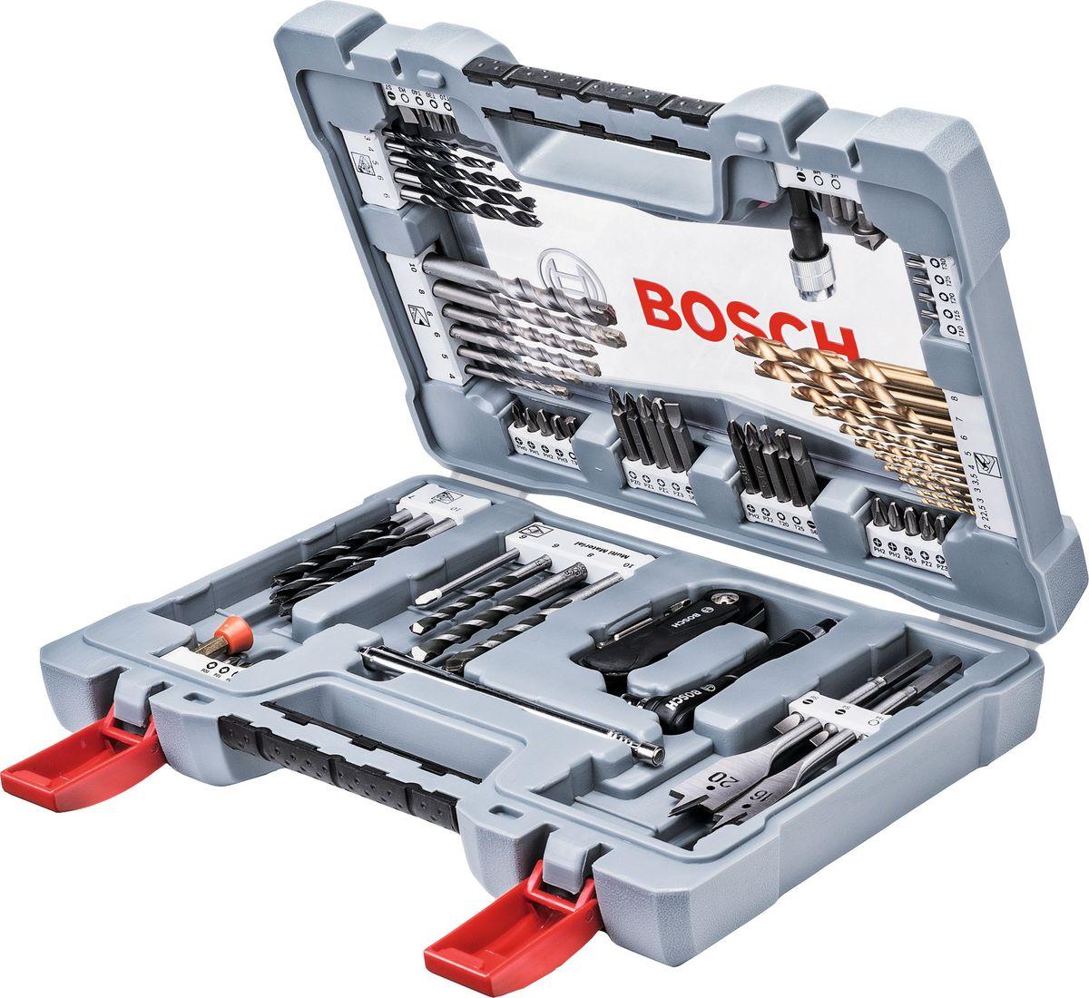 Набор оснастки Bosch Premium Set, 76 шт. 2608P00234 сверло калибр 3 4 5 6 7 8 9 10 мм по дереву 8шт