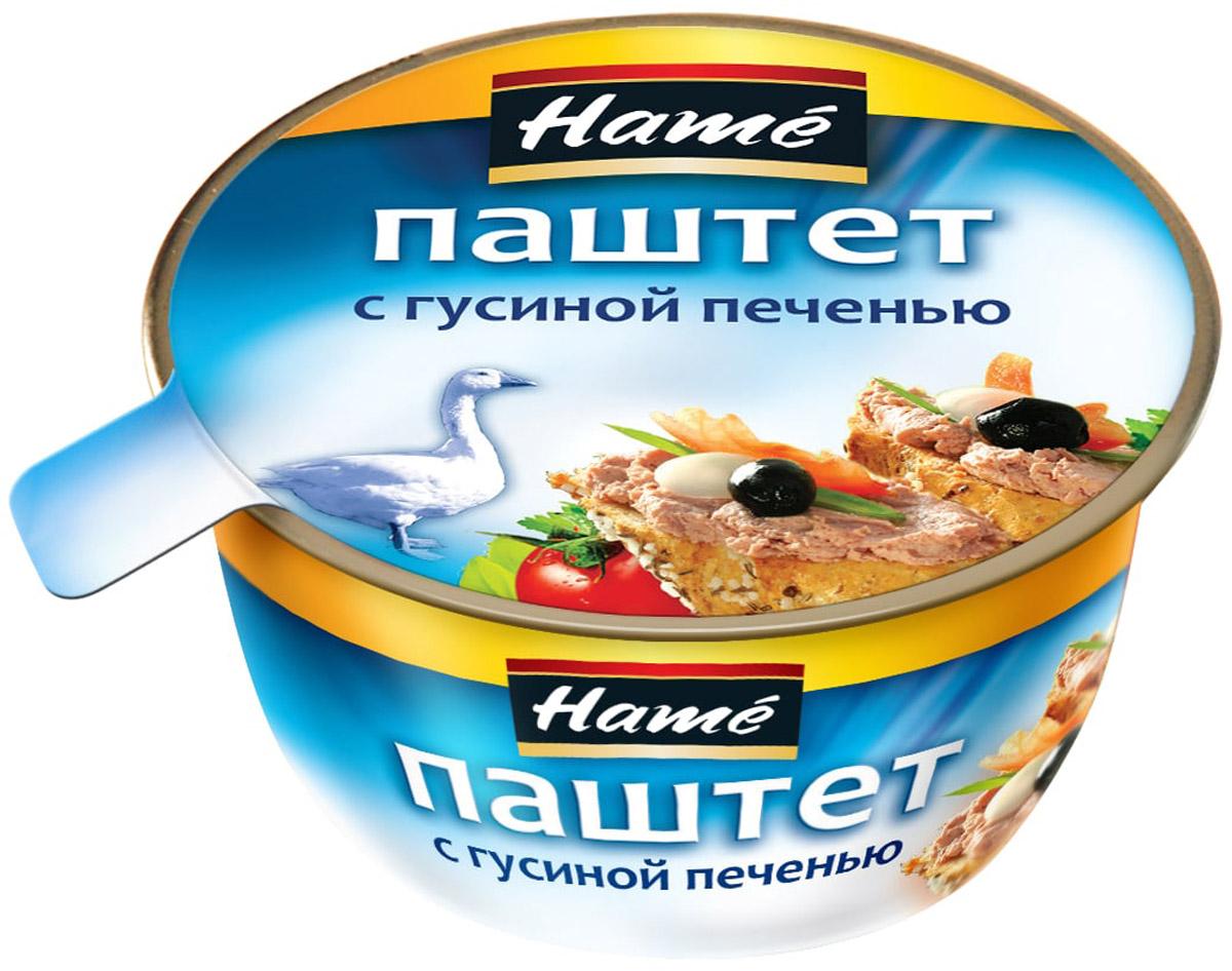Hame Паштет с гусиной печенью, 100 г hame татарский кетчуп 325 г