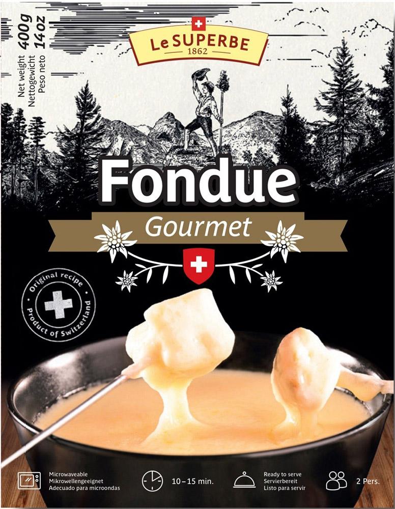 Le Superb Сырный продукт плавленый Сырное фондю, 400 г