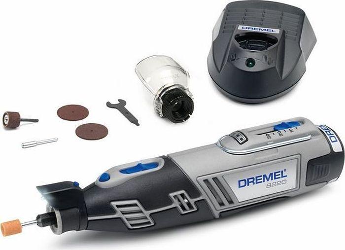 Аккумуляторный многофункциональный инструмент Dremel 8220-1/5, 12V, 1 АКБ, ЗУ. F0138220JD