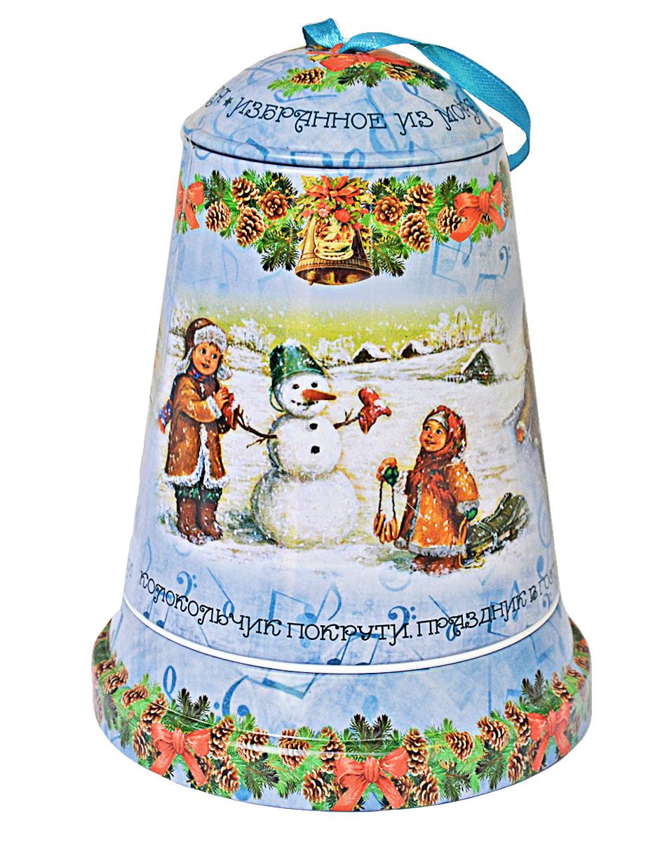Избранное из моря чая Коллекция Музыкальный колокольчик. Зимние радости чай черный листовой, 50 г избранное из моря чая коллекция бутылка малиновый шейк чай черный листовой 75 г