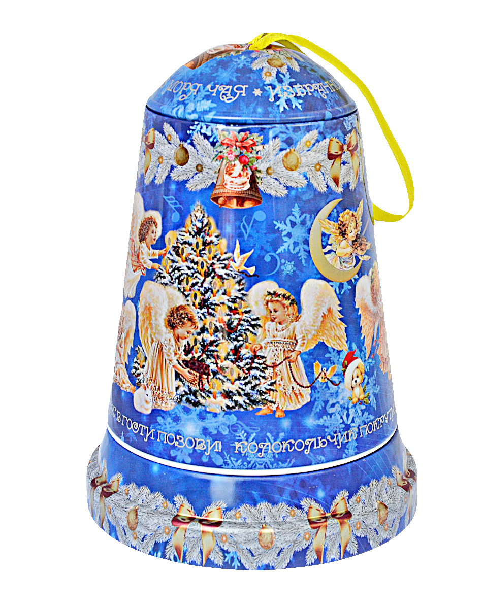 Избранное из моря чая Коллекция Музыкальный колокольчик. Ангелы чай черный листовой, 50 г избранное из моря чая коллекция бутылка малиновый шейк чай черный листовой 75 г