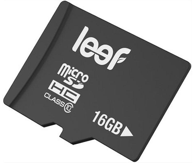 Leef microSDHC Class 10 16GB карта памяти карта памяти leef microsdhc class 10 8gb