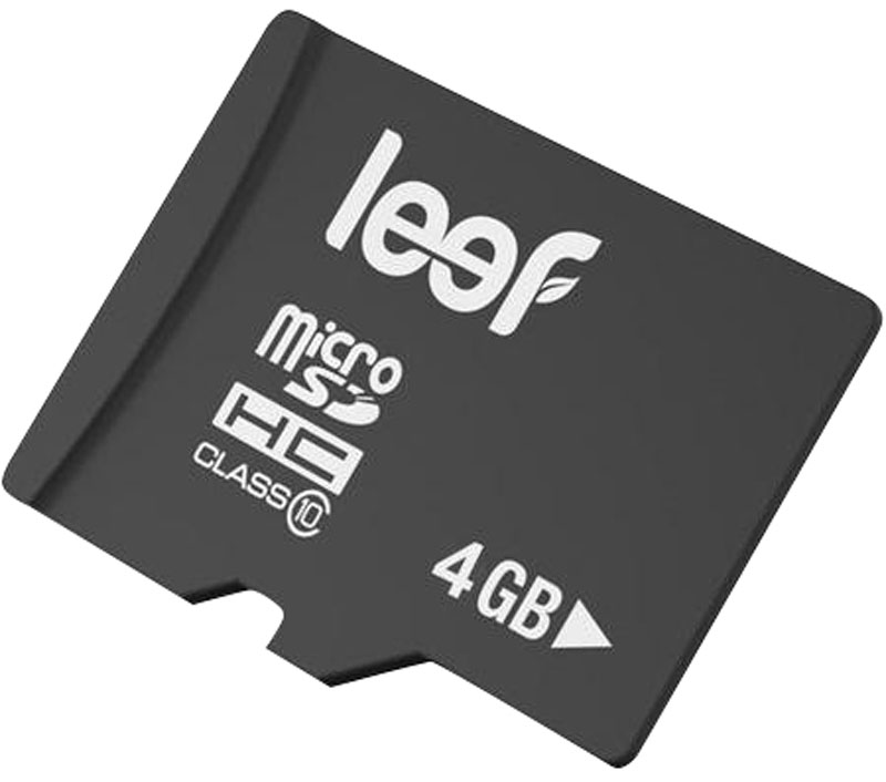 Leef microSDHC Class 10 4GB карта памяти карта памяти leef microsdhc class 10 8gb