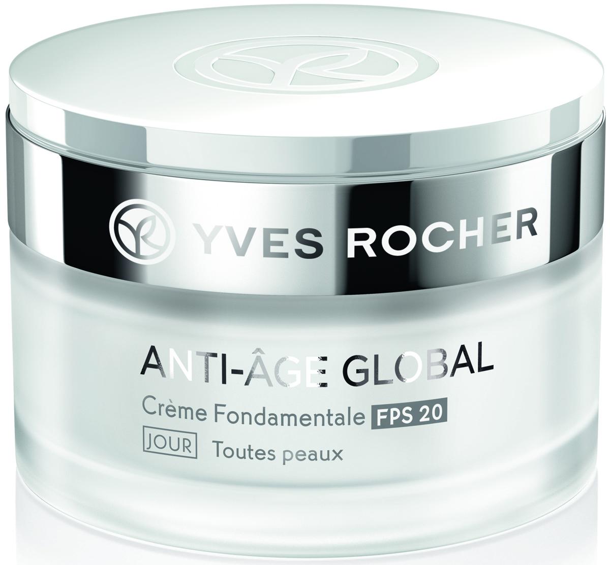Yves Rocher дневной уход возрождение молодости с натуральными растительными клетками, SPF 20, все типы кожи, 50 мл