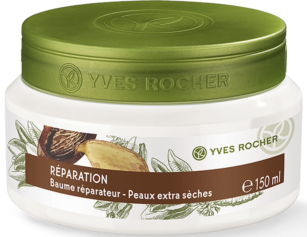Yves Rocher восстанавливающий бальзам для тела для очень сухой кожи, 150 мл