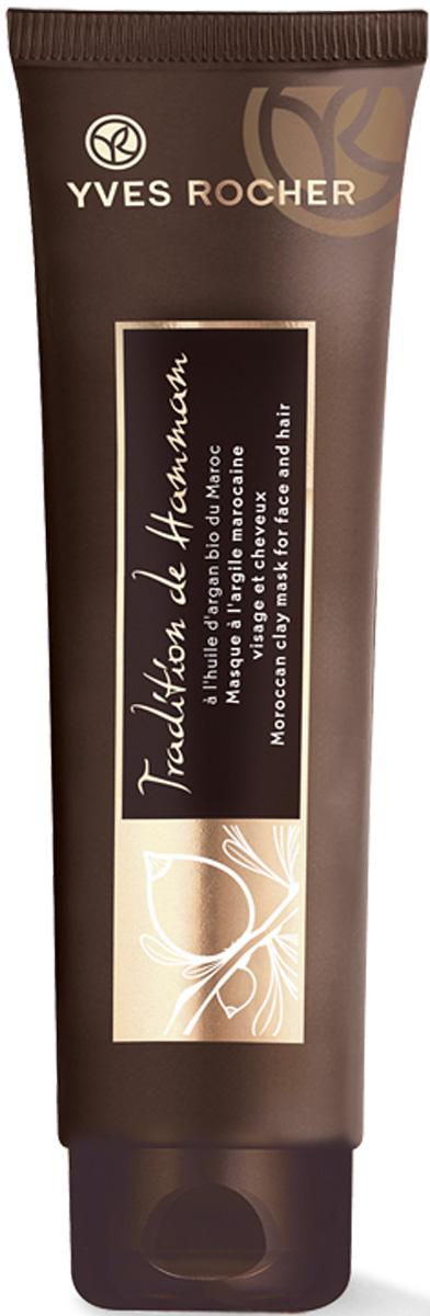 Yves Rocher восточная маска для лица и волос с марокканской глиной, 100 мл давыдов м а акупунктурная пластика лица восточная косметология
