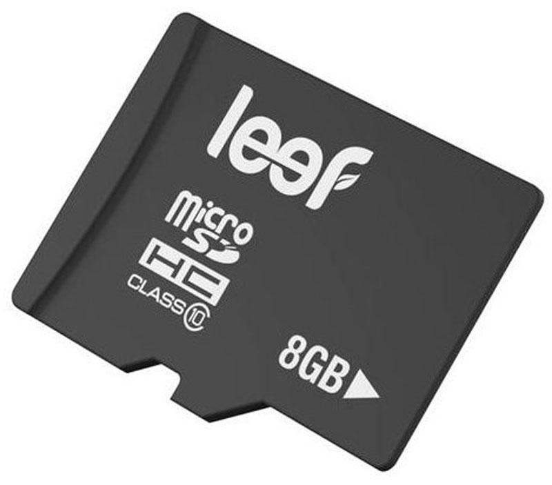 Leef microSDHC Class 10 8GB карта памяти карта памяти leef microsdhc class 10 8gb