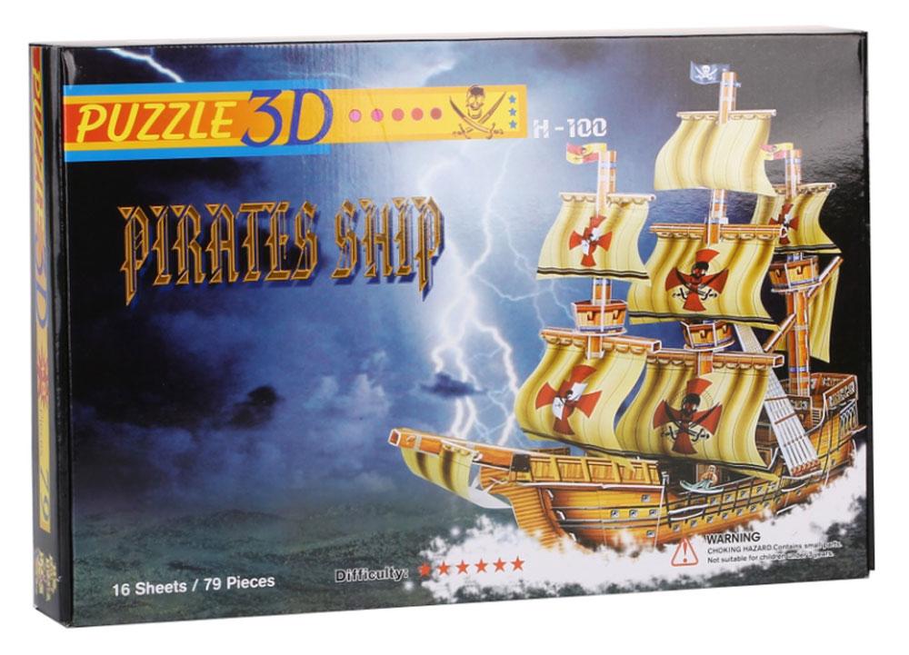 Funny 3D Пазл Пиратский Корабль