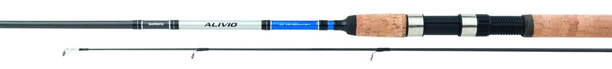 Удилище спиннинговое Shimano Alivio DX Spinn, 2,4 м, 7-21 г удилище shimano alivio dx spinn 300 mh тест гр 14 40