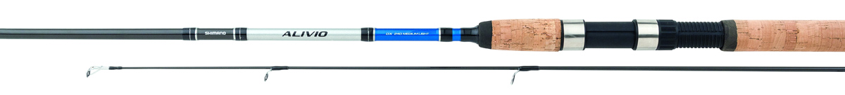 Удилище спиннинговое Shimano Alivio DX Spinn, 2,4 м, 1-11 г удилище shimano alivio dx spinn 300 mh тест гр 14 40