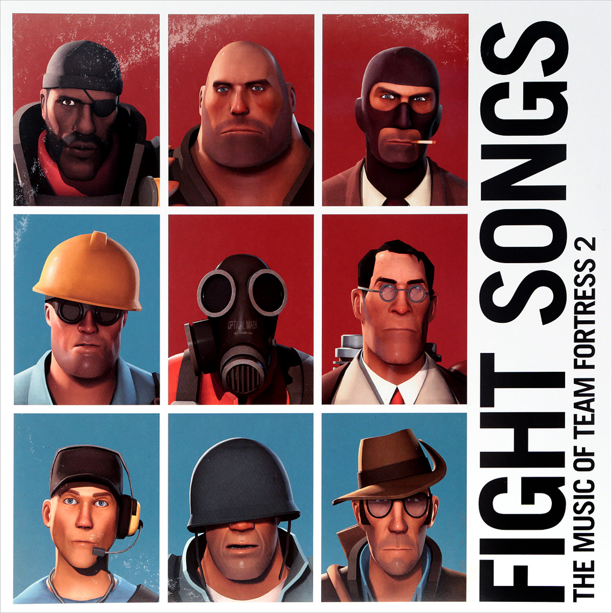 Valve Studio Orchestra. Fight Songs: The Music Of Team Fortress 2 (2 LP) valve studio orchestra the dota 2 official soundtrack lp