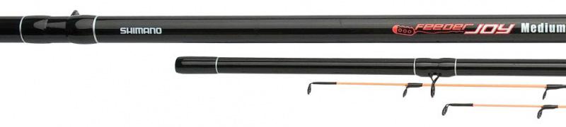 Удилище фидерное Shimano Joy Max Feeder, 3,9 м, 150 г удилище фидерное shimano joy max feeder 3 9 м 110 г