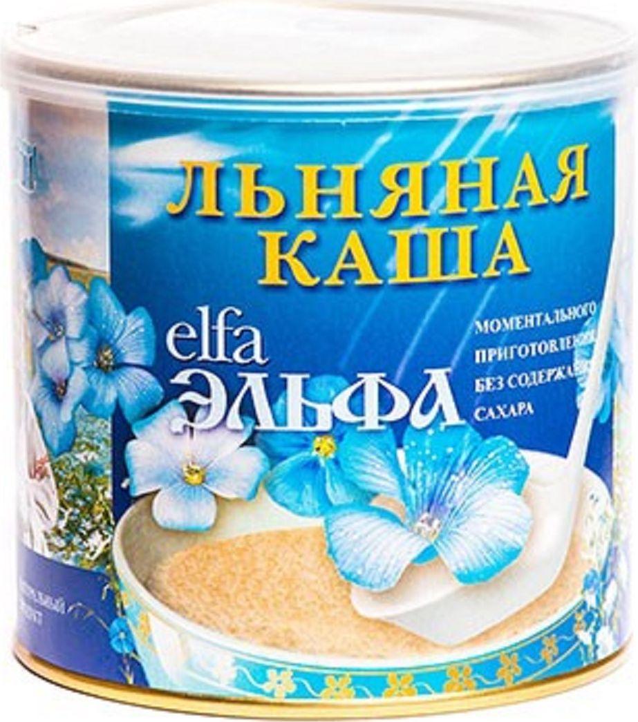 Эльфа Каша льняная со вкусом вишни, 400 г