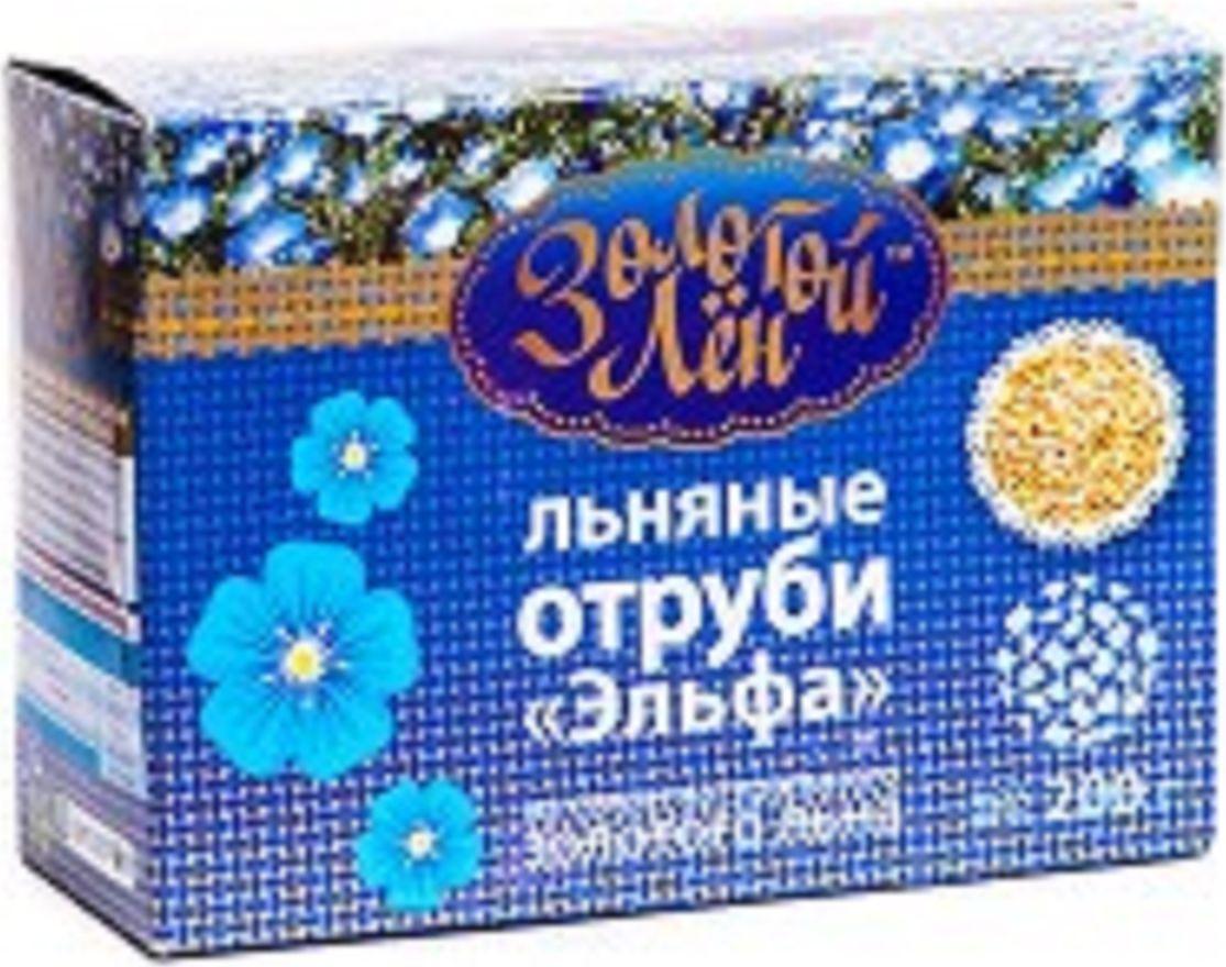 Эльфа Золотой лен отруби льняные, 200 г