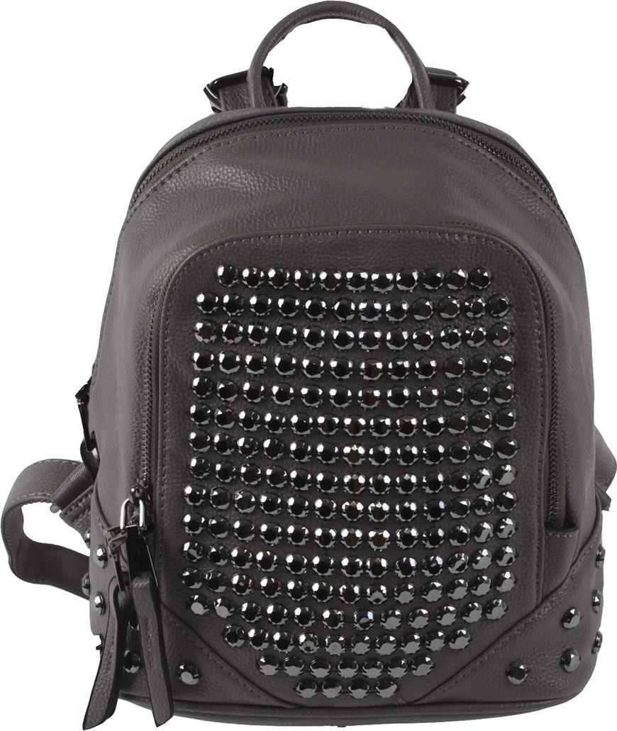 Рюкзак женский Flioraj, цвет: серый. 7598-18 рюкзак женский flioraj цвет серый 9806 1605 106