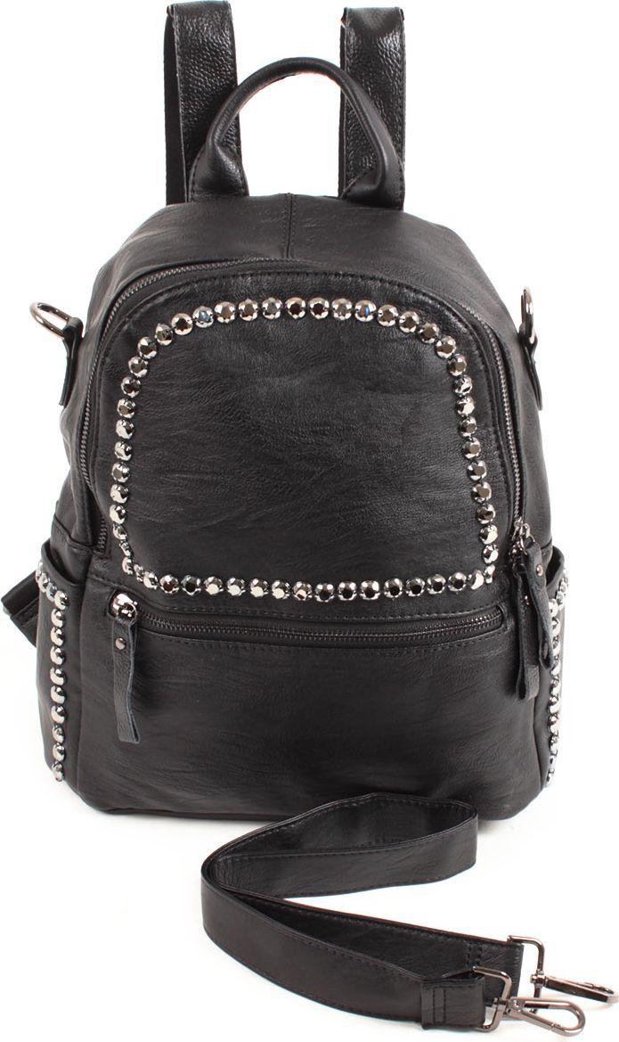Рюкзак женский Flioraj, цвет: черный. 8262-1 цена и фото