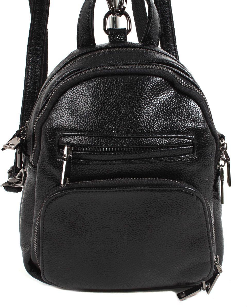 Фото - Рюкзак женский Flioraj, цвет: черный. 5005-1605 рюкзак code code co073bwbyzk6