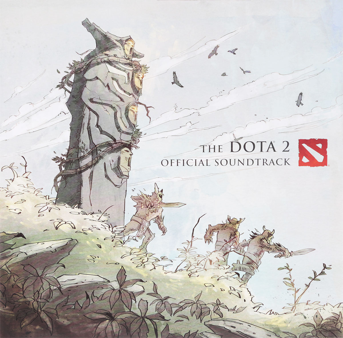 Valve Studio Orchestra. The Dota 2. Official Soundtrack (LP) valve studio orchestra the dota 2 official soundtrack lp