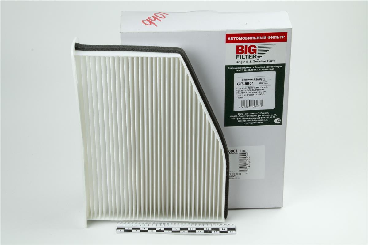 Фильтр салонный GB-9901 фильтр салонный big filter gb 9959
