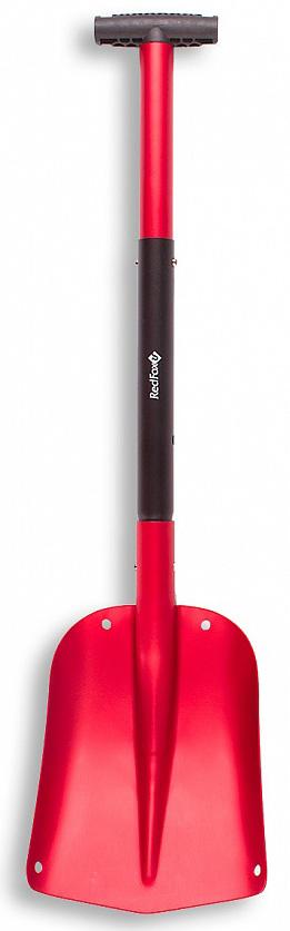 Лопата лавинная Red Fox, складная, цвет: красный, черный