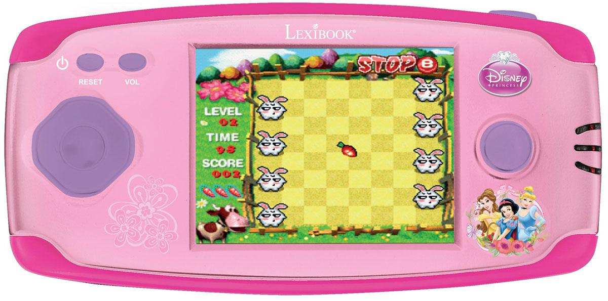 Lexibook портативная игровая консоль Принцессы Дисней + 150 игр игровая консоль pgp aio 5200 droid 5