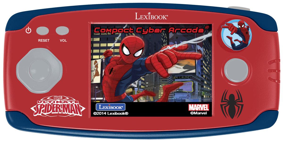 Lexibook портативная игровая консоль Великий Человек-Паук + 150 игр lexibook портативная игровая консоль дисней холодное сердце 150 игр