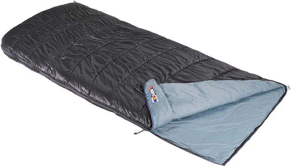 Спальный мешок-одеяло Red Fox Big Wall Team, цвет: черный, 200 х 100 см