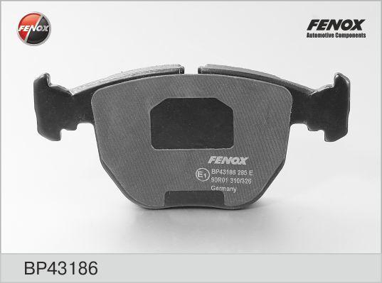 Колодки тормозные дисковые Fenox BP43186, передние все цены