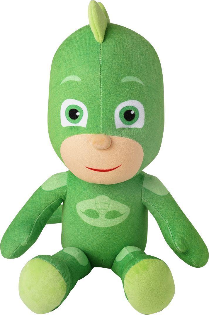 Герои в масках Мягкая игрушка Гекко 45 см котятова н и герои в масках гекко и храпозавр