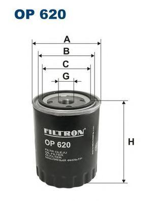 Фильтр масляный Filtron OP620