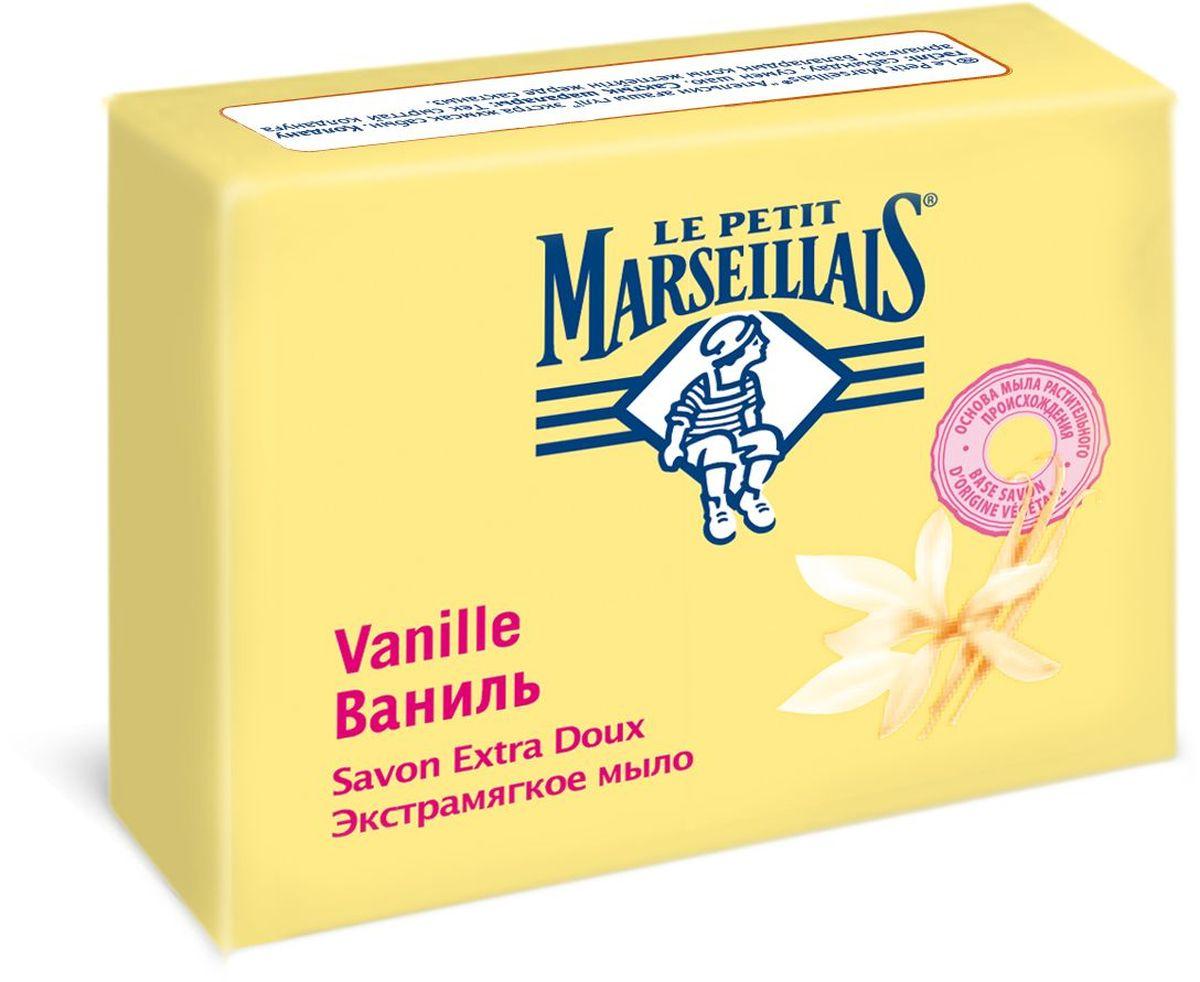 Le Petit Marseillais Мыло экстрамягкое Ваниль, 90 г