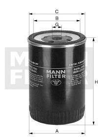 Фильтр топливный Mann-Filter WK731 фильтр топливный mann filter wk1149