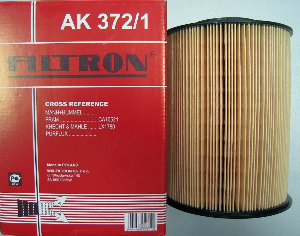 Фильтр воздушный Filtron AK3721 все цены