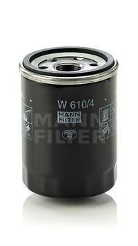 Масляный фильтр Mann-Filter W6104 фильтр масляный comaro 01 01 70032