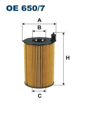 Масляный фильтр Filtron OE6507 цены