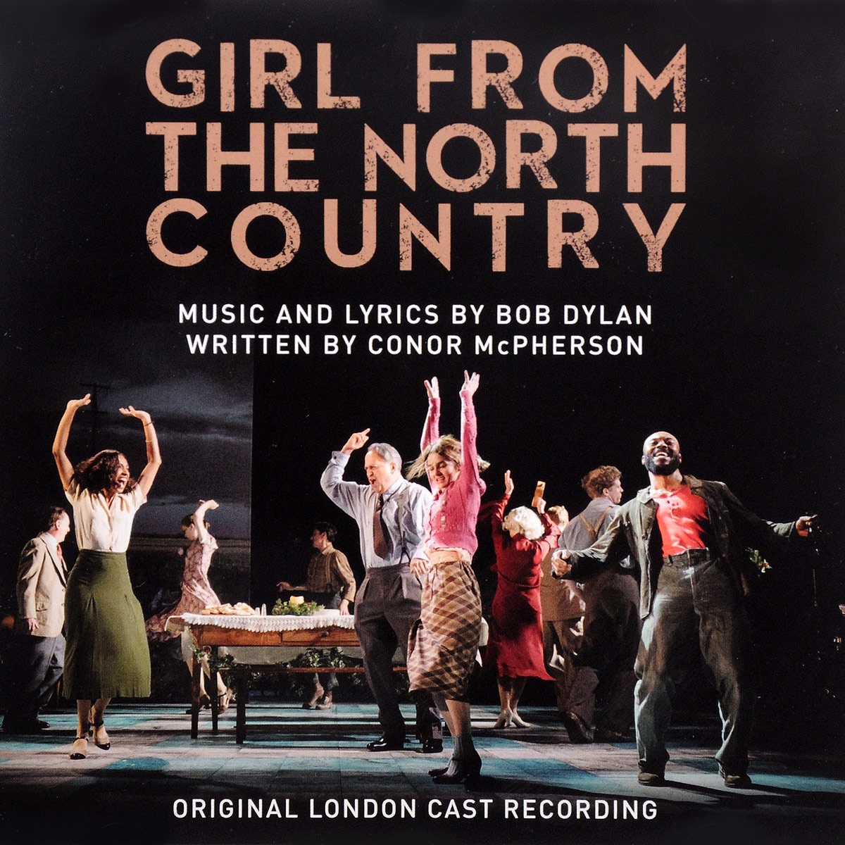 Original London Cast Recording. Girl From The North Country north korea anonymous country