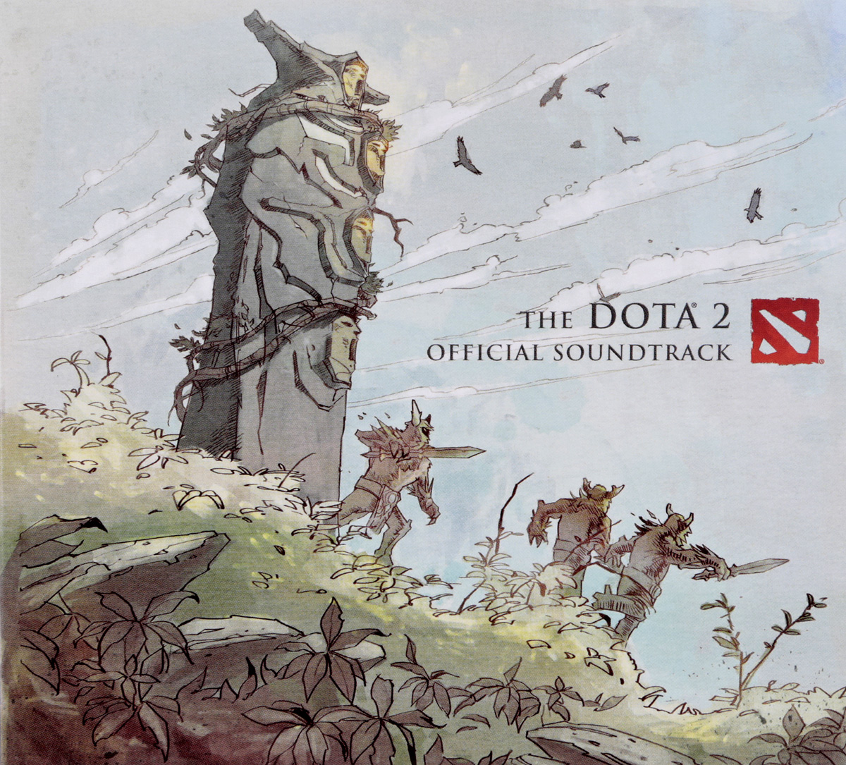 Valve Studio Orchestra. The Dota 2. Official Soundtrack valve studio orchestra the dota 2 official soundtrack lp