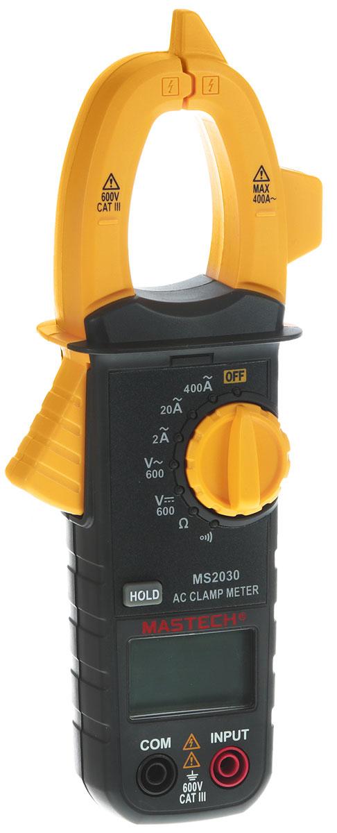 Клещи токовые Mastech MS2030 клещи токовые mastech ms2030